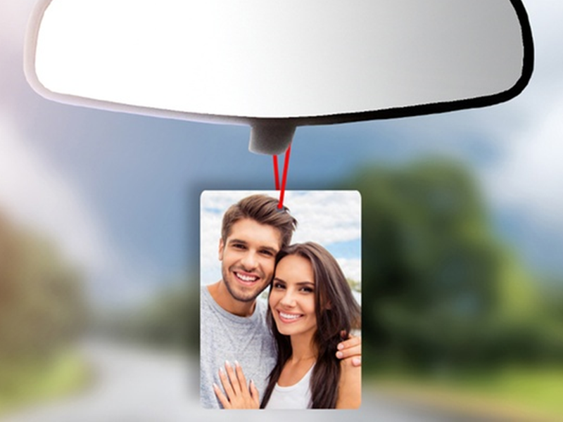 Personalised Photo Car Freshener - PureEssenceGreetings