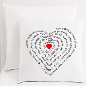 Wonderful Daughter Cushion. - PureEssenceGreetings
