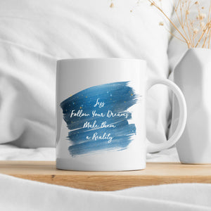 Dreams Quote Personalised Plaque
