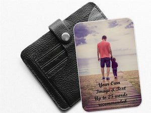 Personalised Father's Day Keepsake Mini Photo Card - PureEssenceGreetings