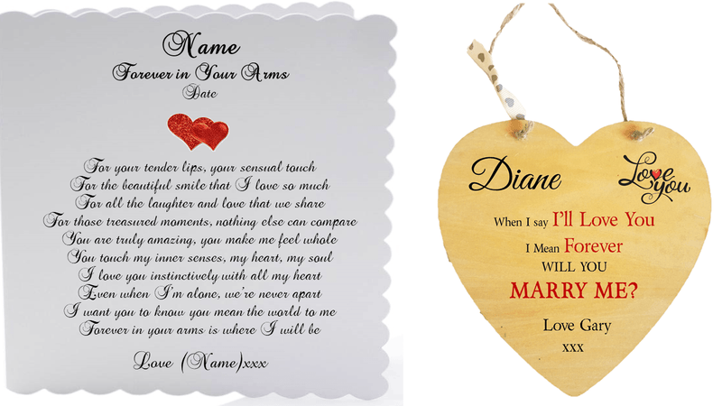 Will You Marry Me Gift | Forever in Your Arms - PureEssenceGreetings