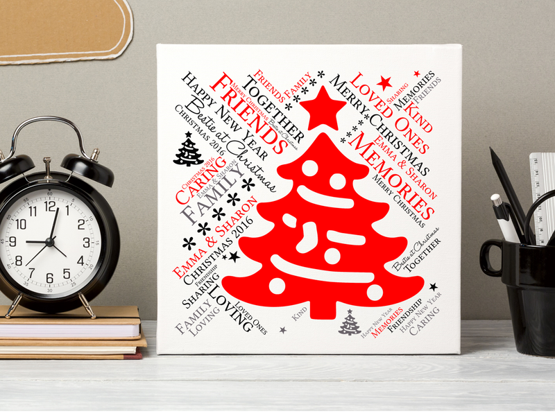 Friendship Personalised Christmas Card