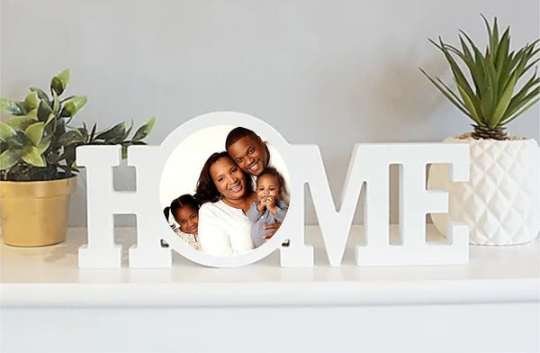 Home Personalised Photo Plaque - PureEssenceGreetings