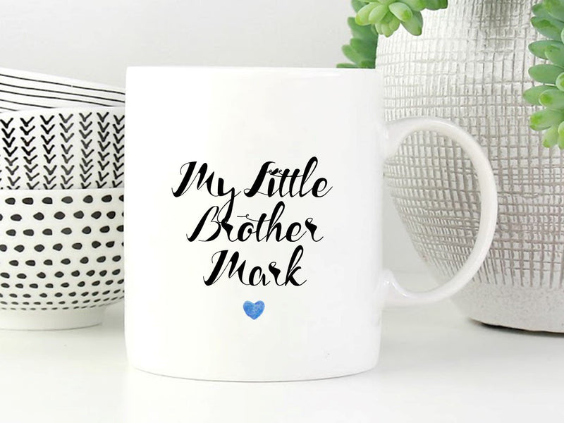 Little Brother Personalised Mug
