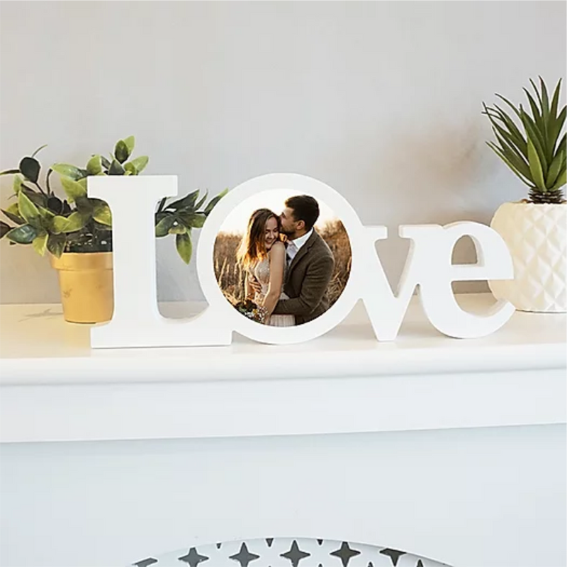 Love Personalised Photo Plaque - PureEssenceGreetings