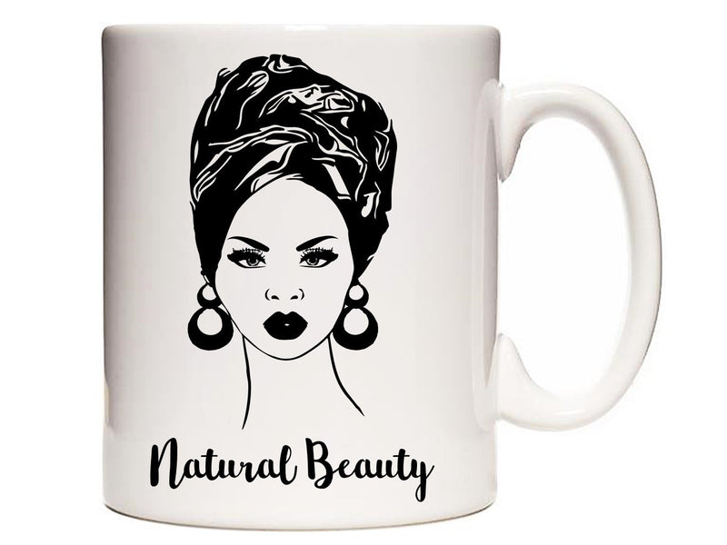 Natural Beauty Personalised Mug - PureEssenceGreetings