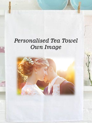 Kitchen Personalised Tea Towel | Own Image