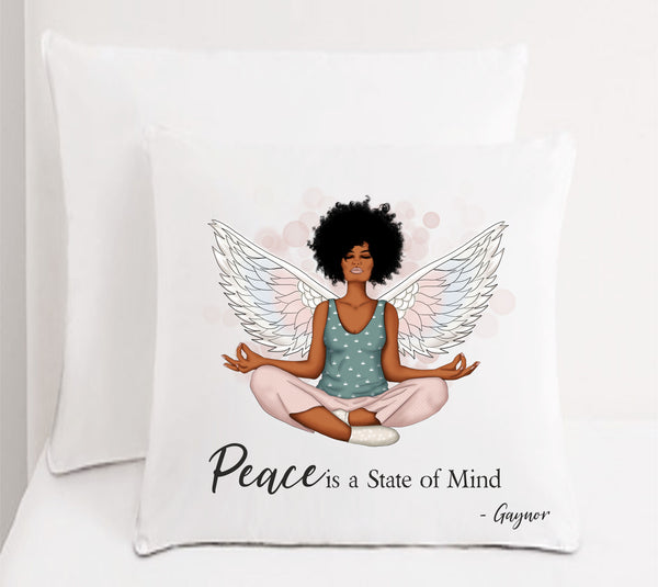 Peace Personalised Cushion