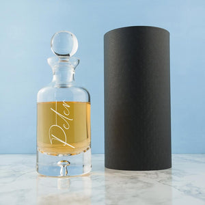 PERSONALISED ENGRAVED DECANTER