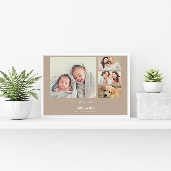 Photo Collage Poster - PureEssenceGreetings