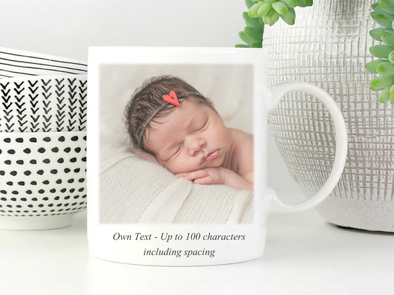 Personalised Photo Mug | Image and Text - PureEssenceGreetings