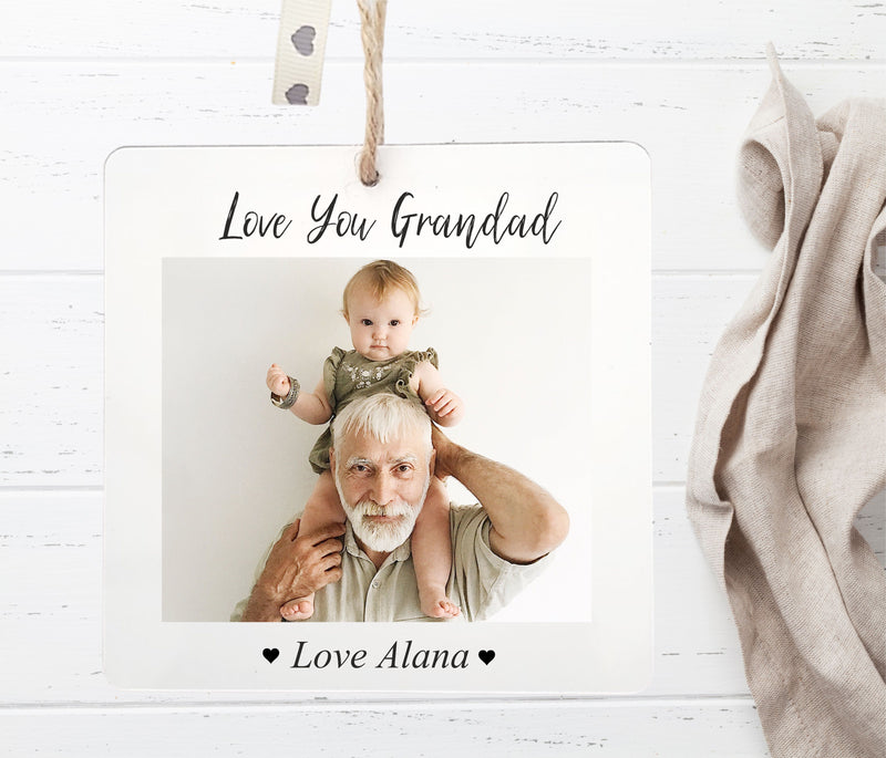 Photo Plaque Gift Tag | Sml - PureEssenceGreetings