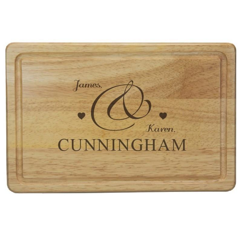 Special Couple Chopping Board