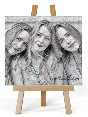 Picture to Painting Personalised Ceramic Plaque | Sketch Design - PureEssenceGreetings