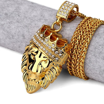 18K Lion King ICED OUT
