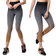 Gradient Color Running Yoga Pants