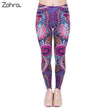 Zohra Paisley Leggings
