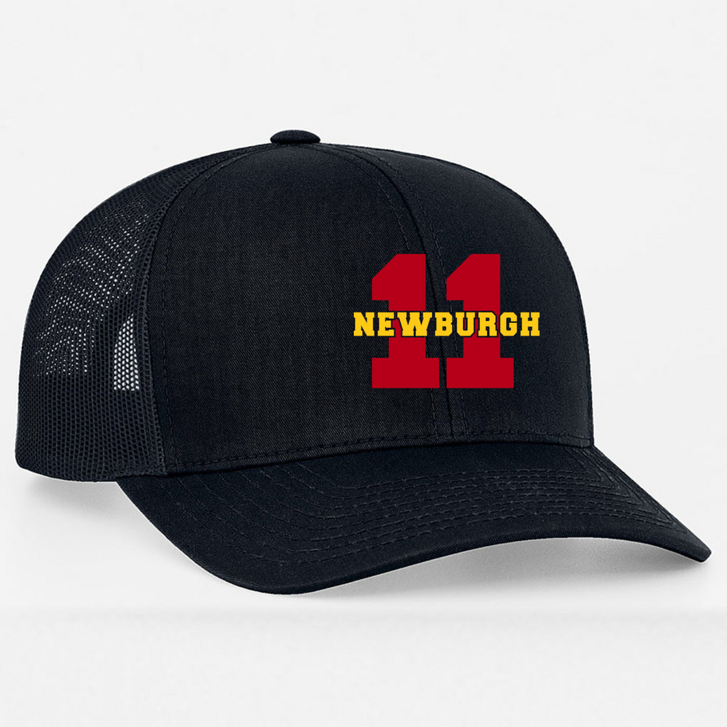 Newburgh Fire Department Mesh Back Fitted Cap W/Embroidered Station Number
