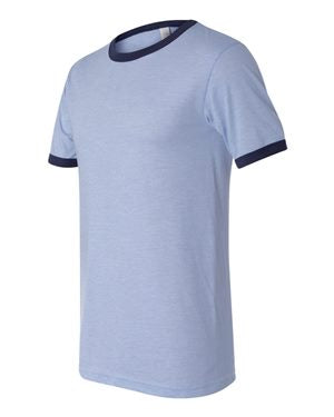 Bella + Canvas - Heather Ringer Jersey Tee - 3055