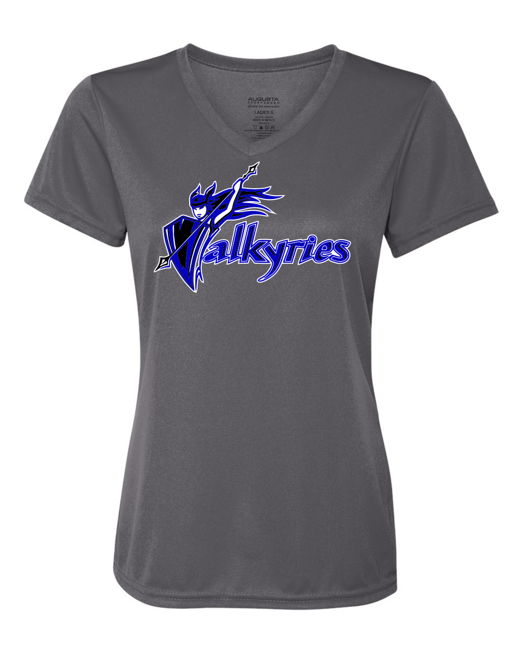 River City Valkyrie Dri Fit Tee, Ladies V-Neck