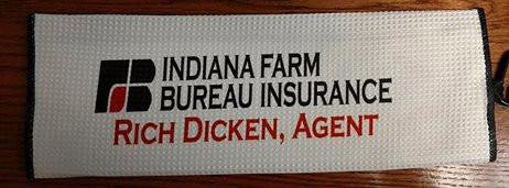 Indiana Farm Bureau - Fairway Golf Towel