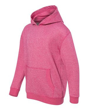 J. America - Youth Glitter French Terry Hooded Pullover - 8606