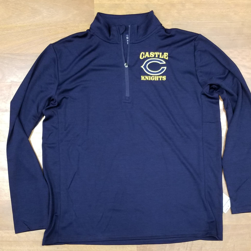 Castle Knights Russell Dri-Power Lightweight 1/4 Zip Pullover