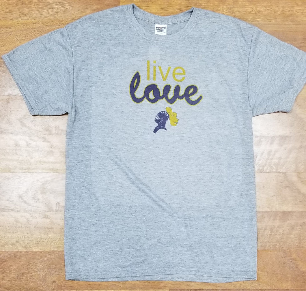 Castle Knights Live Love Jerzees Tshirt