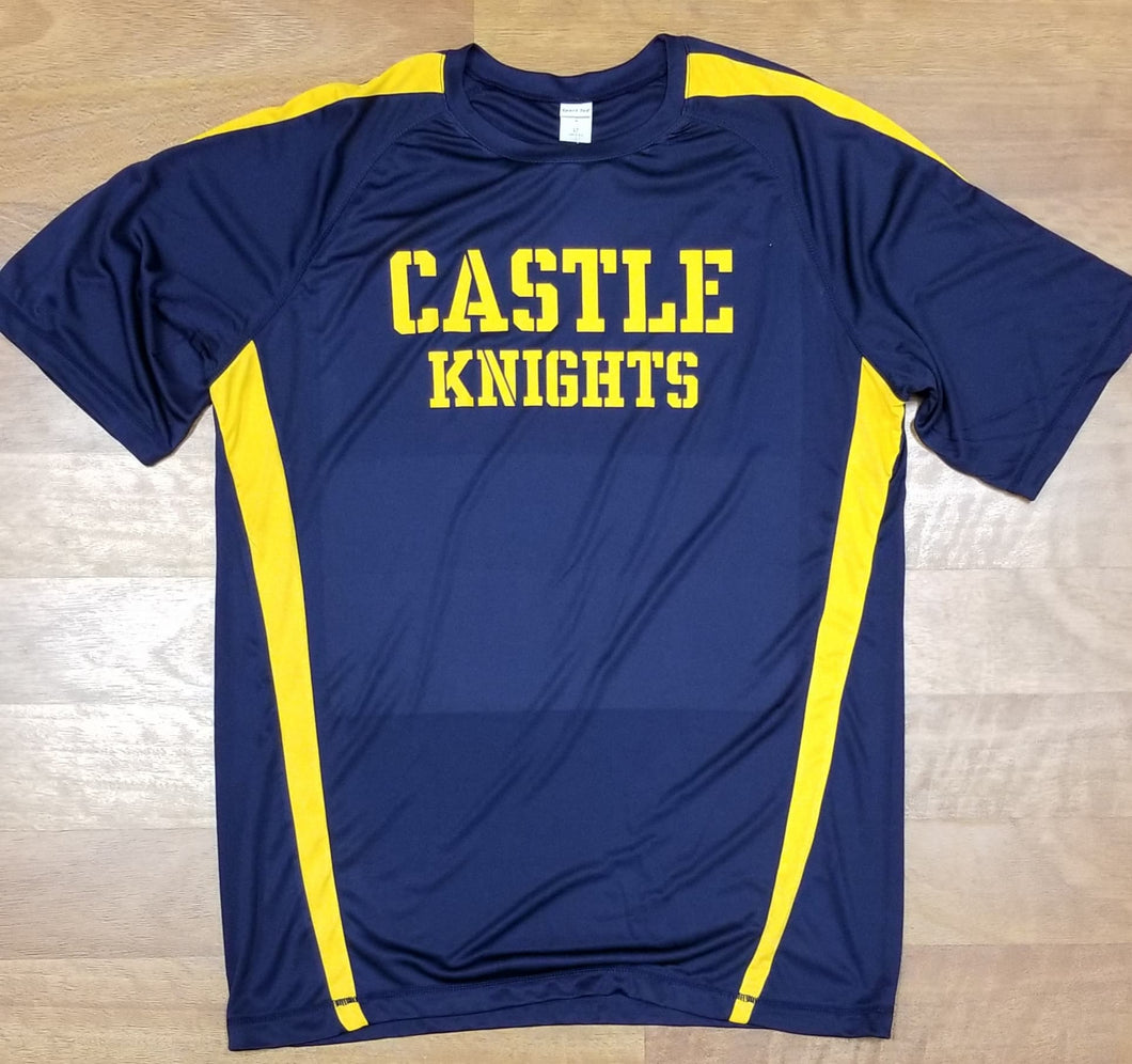 Castle Knights Sport-Tek Tall Colorblock PosiCharge Competitor Tee TST351