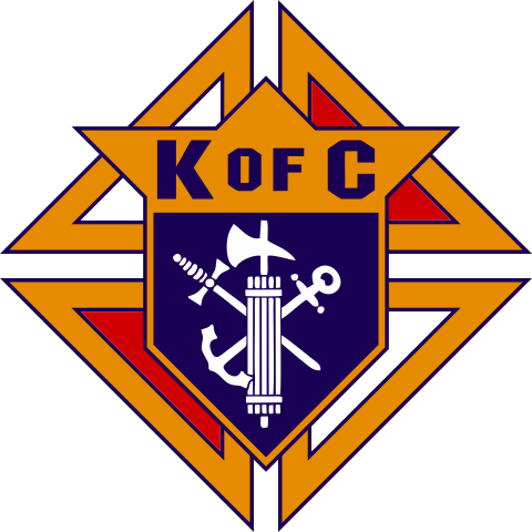 Knights of Columbus Car Decal