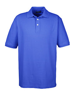 7500 UltraClub Men's Classic Platinum Polo
