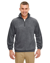 8480Prime UltraClub Adult Iceberg Fleece Quarter-Zip Pullover