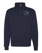 Gas Medix- Quarter-Zip Cadet Collar Sweatshirt