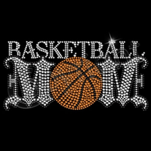 Ready to Press Transfer - Basketball Mom Rhinestone