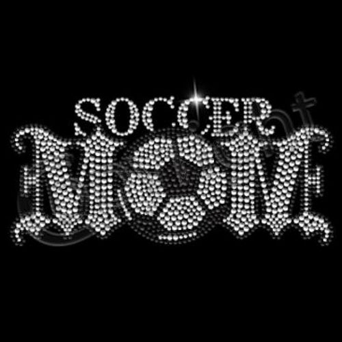 Ready to Press Transfer - Soccer Mom Rhinestone