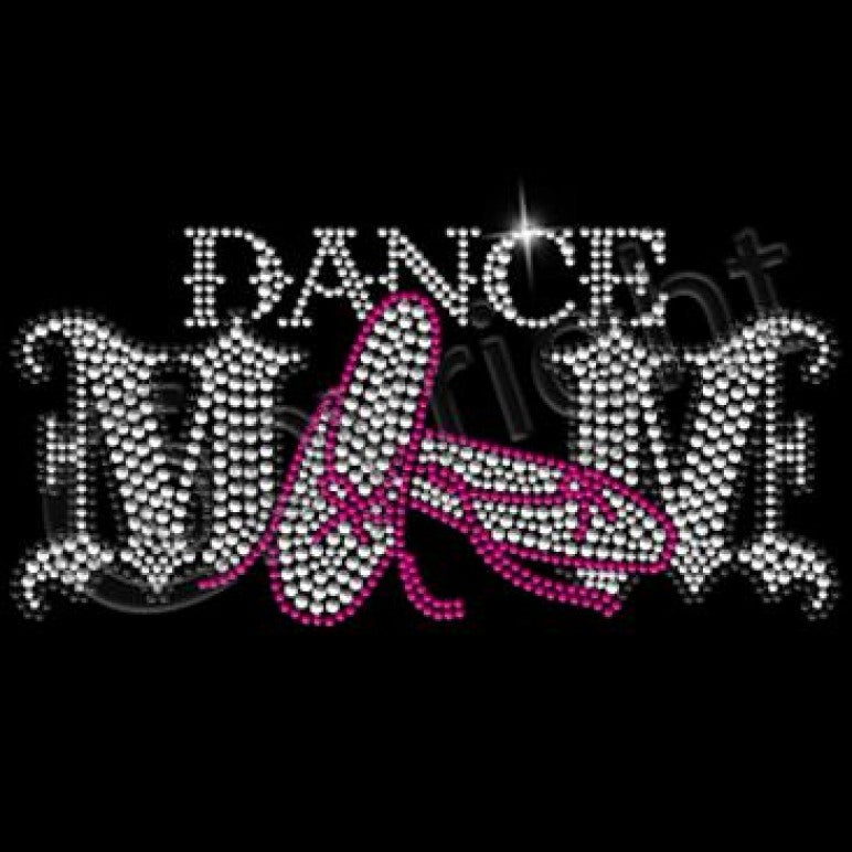 Ready to Press Transfer - Dance Mom Rhinestones