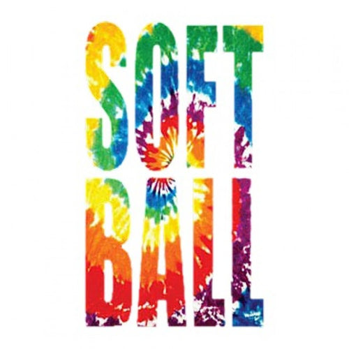 Ready to Press Transfer - Tie Dye Softball