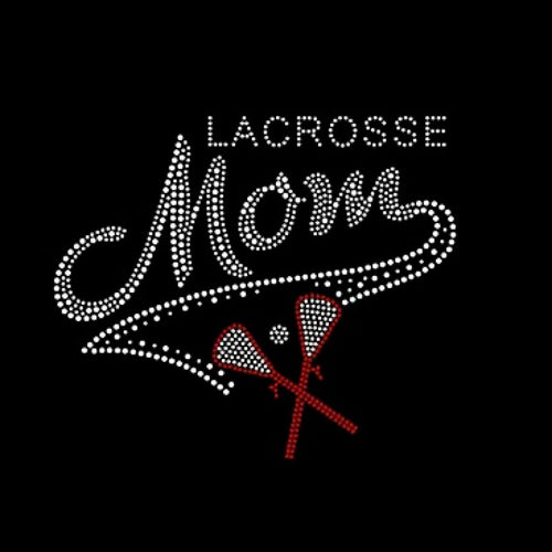 Ready to Press Transfer - Lacrosse Mom Rhinestones