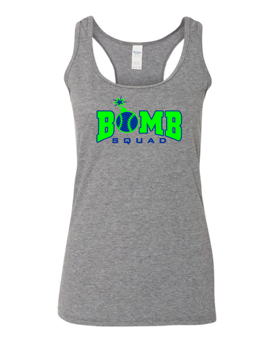 Bomb Squad SoftStyle Women's Racerback Tank Top
