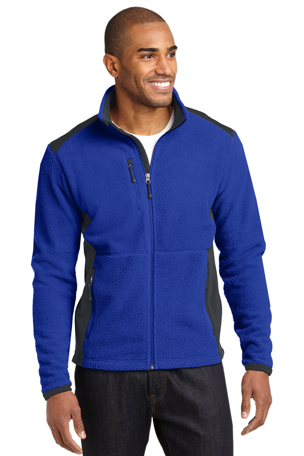 EB232  Eddie Bauer® Full-Zip Sherpa Fleece Jacket