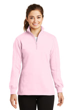 LST253 Sport-Tek Ladies 1/4-Zip Sweatshirt