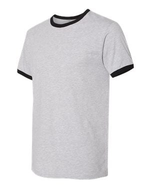 Next Level - Unisex Fine Jersey Ringer Tee - 3604