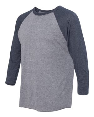 Next Level - Unisex Tri-Blend Three-Quarter Sleeve Baseball Raglan Tee - 6051