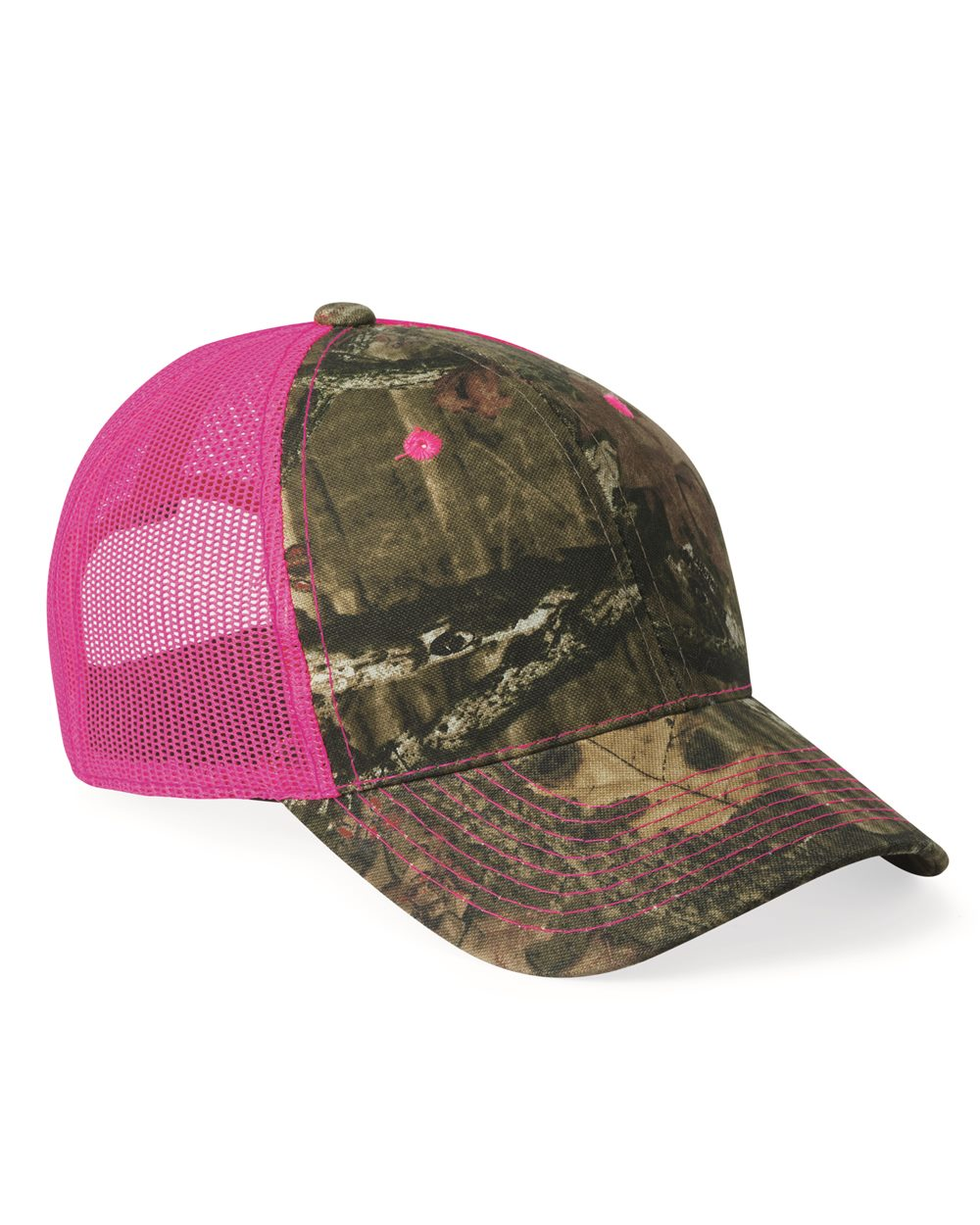 Outdoor Cap - Camo Cap with Neon Mesh Back - CNM100M