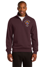 1/4-Zip Sweatshirt with embroidered  Knights of Columbus Logo
