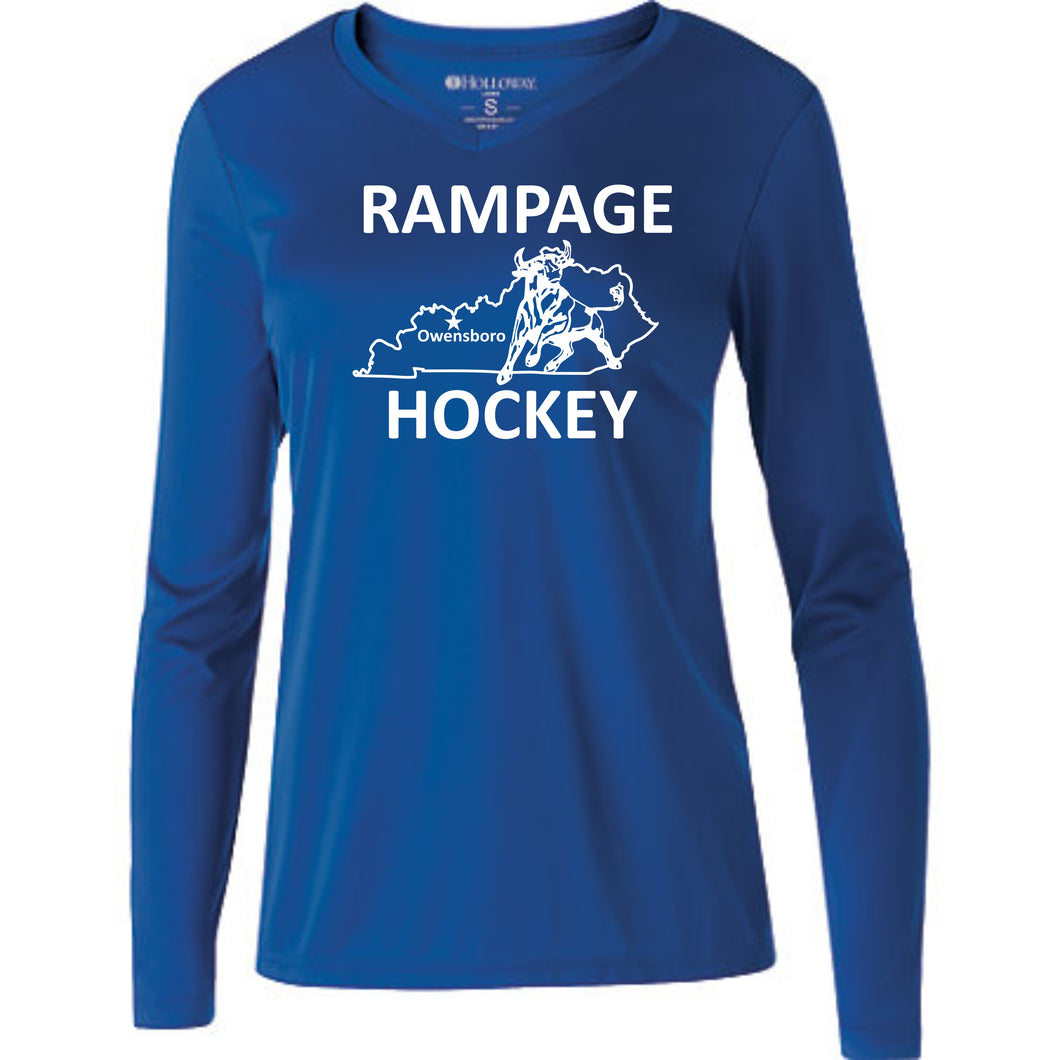 Rampage Dri Fit Long Sleeve Spark 2.0 Ladies