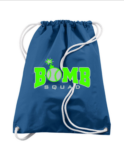Bomb Squad- Drawstring Backpack