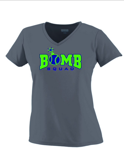 Bomb Squad- LADIES WICKING T-SHIRT