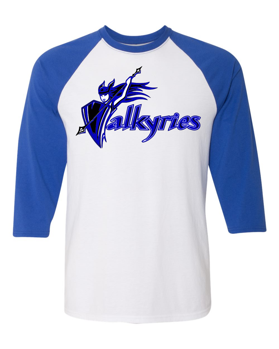 River City Valkyrie 3/4 Sleeve Baseball Tee
