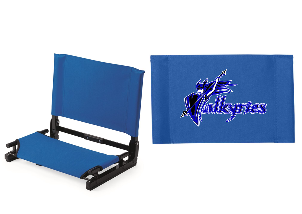 River City Valkyrie Wide Folding Stadium Chair Seat